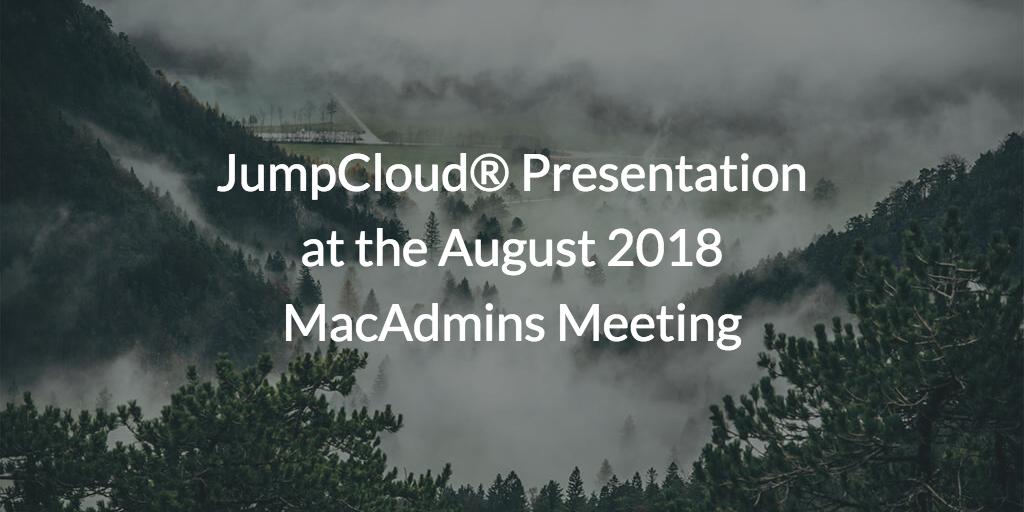 MacAdmins Meeting