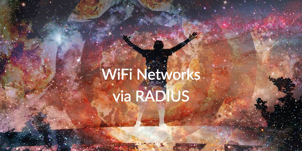 wifi networks via radius