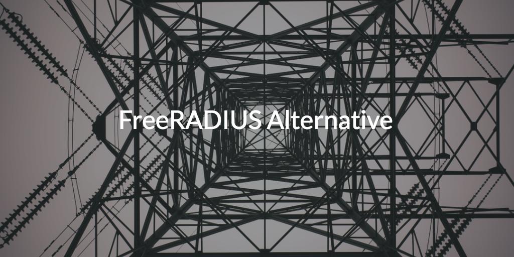FreeRADIUS Alternative witten on image