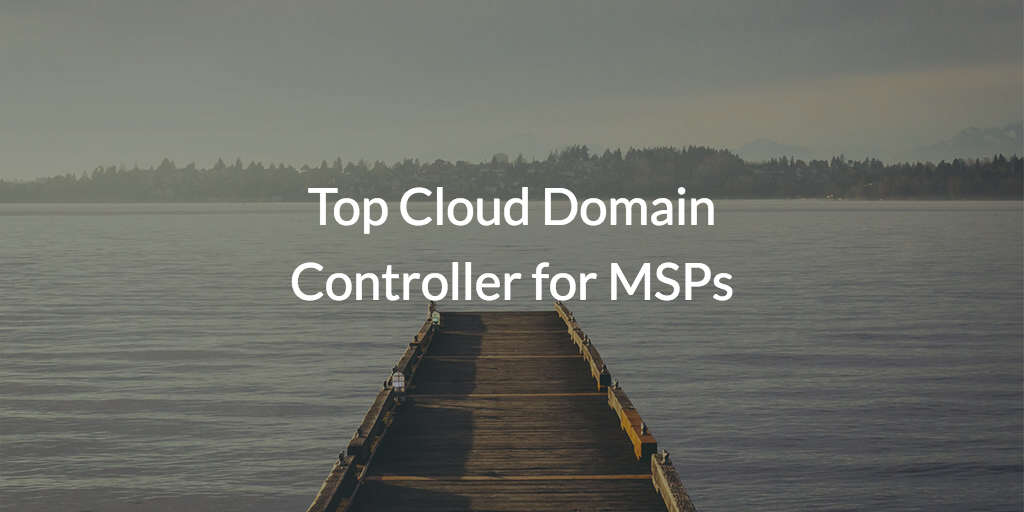 What are the top cloud domain controllers for MSPs