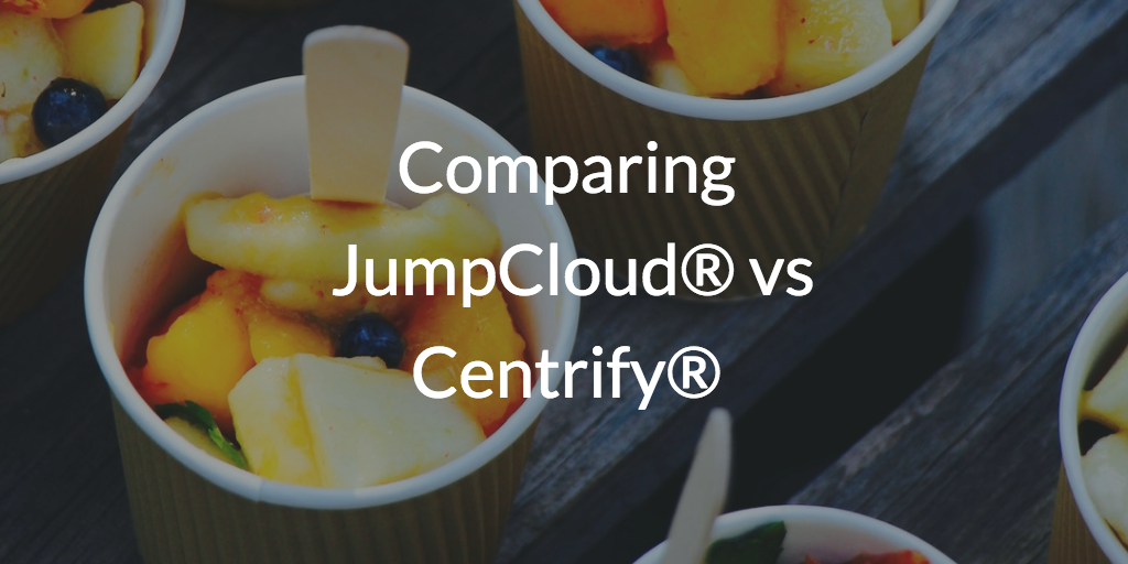 Comparing JumpCloud vs Centrify