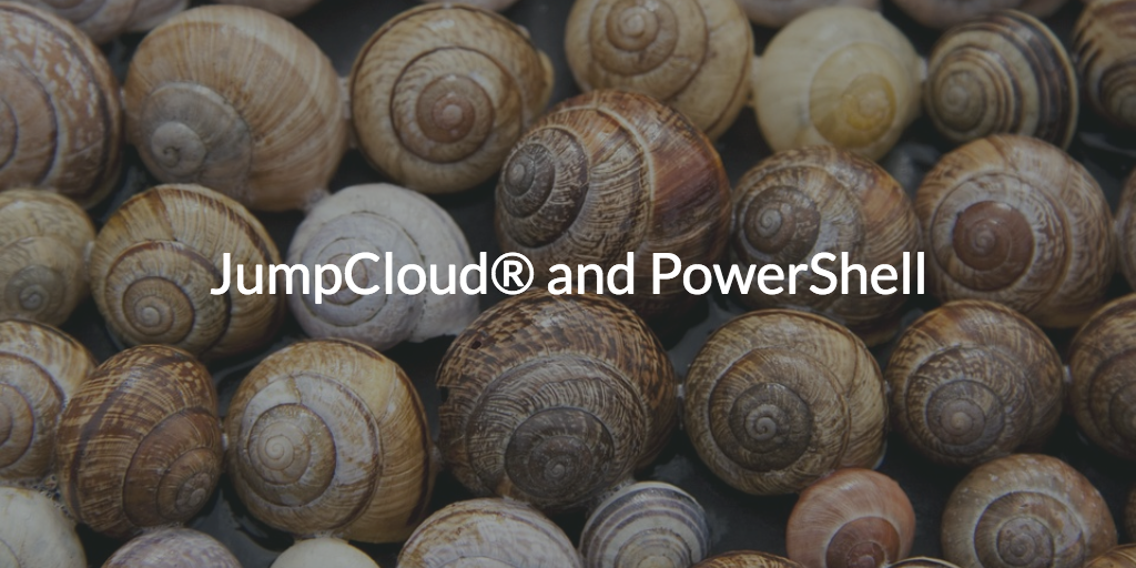 PowerShell JumpCloud (picture of shells)