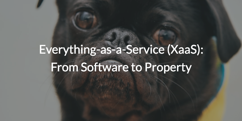 Everything-as-a-Service XaaS