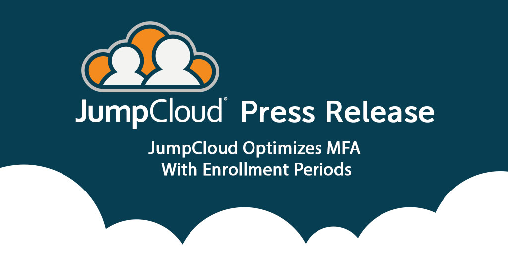 JumpCloud Multi Factor Authentication enrollment