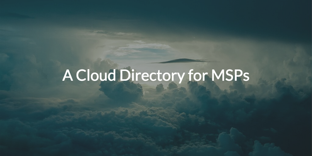 Cloud Directory MSPs