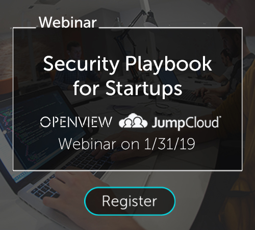 Security Playbook for Startups