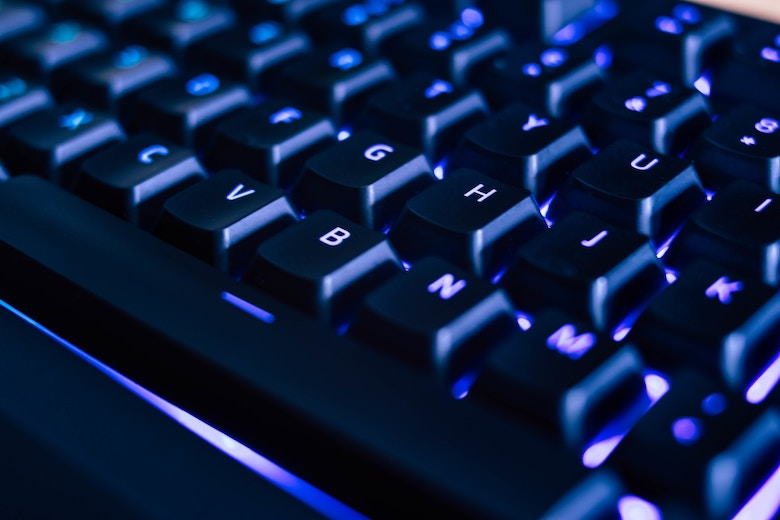 OpenLDAP and RADIUS in the Cloud | Backlit Computer Keyboard image